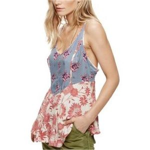 Intimately Free People Multi Patterned Tank Top